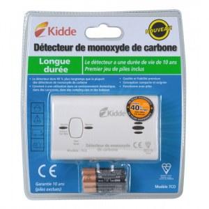 Détecteur de monoxyde de carbonne - KIDDE