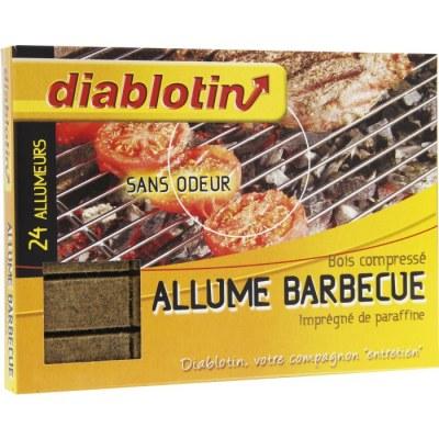 Cubes allume barbecue - x 24 - DIABLOTIN