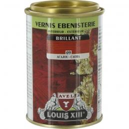 Vernis ébénisterie - Brillant - Acajou - 250 ml - AVEL