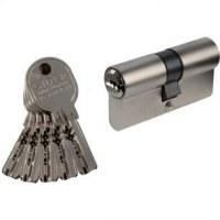 Cylindre 2 entrées isr6 nickelé - 90 mm / 60 mm / 30 mm
