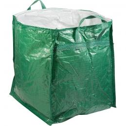 Sac de jardin refermable - Pour végétaux - 250 L - Vert