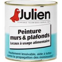 Peinture alimentaire Hygiapeint - Murs et plafonds - 0.5 L - JULIEN