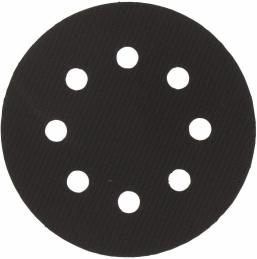 Patin perforé auto-agrippant 8 trous - Ø 125 mm - SCID