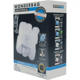 Sacs aspirateur Wonderbag Allergy Care x4 WB484720 - ROWENTA