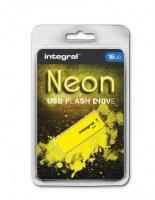 Integral NEON Clé USB Jaune 16 Go