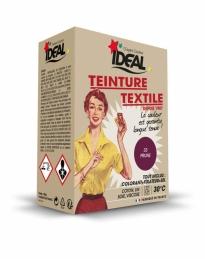 Teinture textile pour machine - Prune - 350 Grs - IDEAL