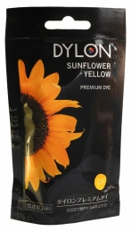 Teinture textile pour lavage main - SunFlower - Tournesol - 50 Grs - DYLON