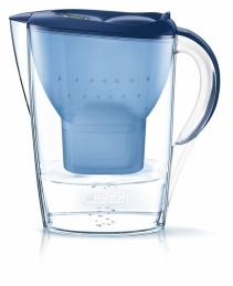 Carafe filtrante - Fill & enjoy Style - Marella - Bleu - 2.4 L - BRITA