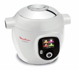 Assistant de cuisine - Cookeo+ - 6 L - 1600 Watts - Blanc - MOULINEX