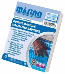 Gomme magique - Nettoyage ligne d'eau - Lot de 2 - BLUE TECH