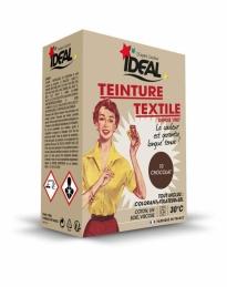 Teinture textile pour machine - Chocolat - 350 Grs - IDEAL