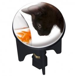 Bouchon clapet de lavabo - Pluggy - Cat - 4 cm - WENKO