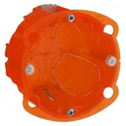 Boîte à encastrer Batibox multimatériaux - 1 poste profondeur 40 mm - LEGRAND
