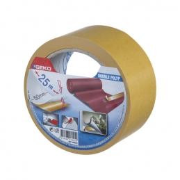Ruban adhésif double face - polypropylène - 50 mm x 25 M - GEKO
