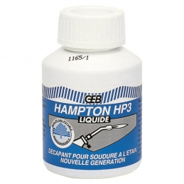 Gel décapant pour soudure à l'étain - Hampton HP3 - 80 ml - GEB