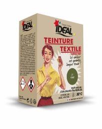 Teinture textile pour machine - Kaki - 350 Grs - IDEAL