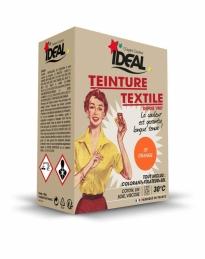 Teinture textile pour machine - Orange - 350 Grs - IDEAL
