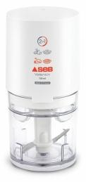 Mini hachoir électrique Valentin - 2 en 1 - Blanc - SEB