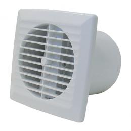Ventilation extracteur d'air - Extra plat - 90 m3/h - Timer - 100 mm - DMO