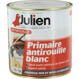 Primaire Antirouille - Blanc - 500 ml - JULIEN
