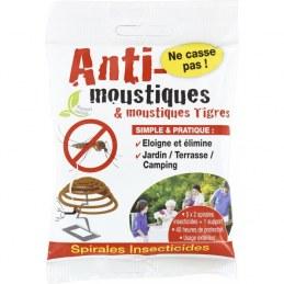 Spirale anti-moustiques - Lot de 10 - FLORENDI