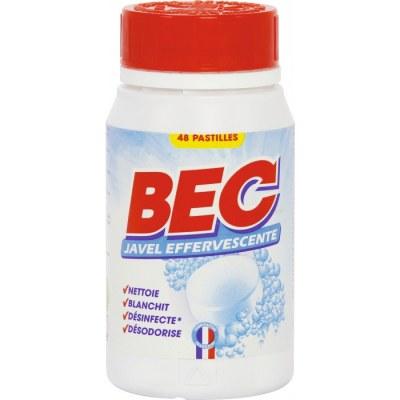 Pastilles eau de javel effervescente - 48 pastilles - BEC