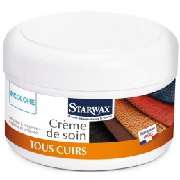 Crème de soin pour cuir 150ml - STARWAX