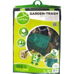 Sac de jardin réutilisable - Polyéthylène renforcé - 150 L - CATRAL