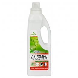 Nettoyant canalisations et fosses septiques - Menthe - 1 L - Écologique - LE CASTOR VERT