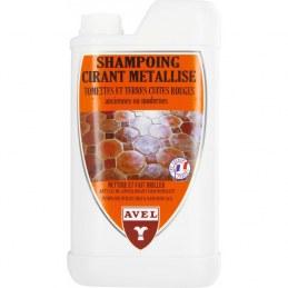 Shampoing cirant métallisé- Tomettes et terres cuites rouges - 1 L - AVEL