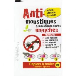 Papier anti-moustiques - Lot de 10 - FLORENDI