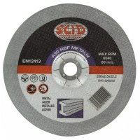Disques à tronçonner - Métaux - Diamètre 115 mm - Alésage 22,2 mm - SCID