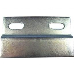 Lot de 4 plaques de fixation profil Z pour meubles STRAUSS
