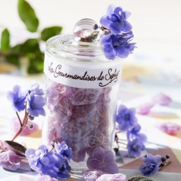 Bonbonnière de Violettes - 80 Grs - LES GOURMANDISES DE SOPHIE