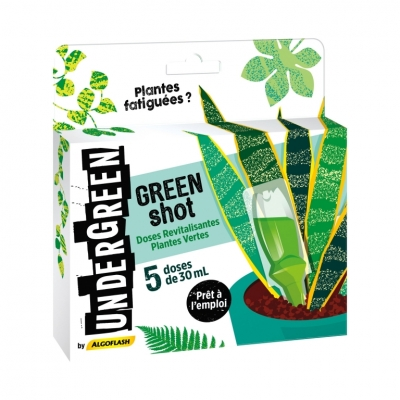 Doses Revitalisantes Plantes Vertes - Green Shot - 5 x 30 ml - UNDERGREEN