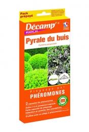 Recharge de phéromones pour piège contre la pyrale du buis - 2 recharges - DECAMP