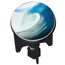 Bouchon clapet de lavabo - Pluggy - Wave - 4 cm - WENKO