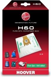 4 sacs d'aspirateur - Freemotion anti-odeur - H 60 - HOOVER