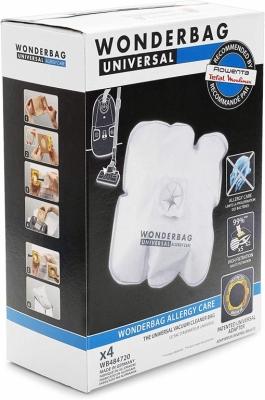 4 Sacs aspirateur Universel Wonderbag Original - WB484720 - ROWENTA