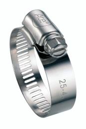 Collier de serrage à bande - Inox - Diamètre 32 - 52 mm - Largeur 13 mm - Vendu par 2 - CAP VERT