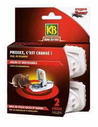 Pièges à souris réutilisable - Lot de 2 - KB