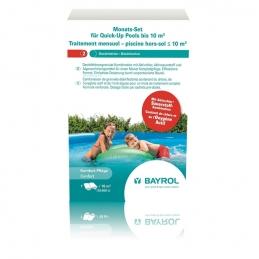 Traitement mensuel pour piscine hors-sol inférieure à 10 m³ - Quick-Up - BAYROL