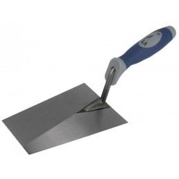 Truelle italienne carrée bi-matière 18 cm - OUTIBAT