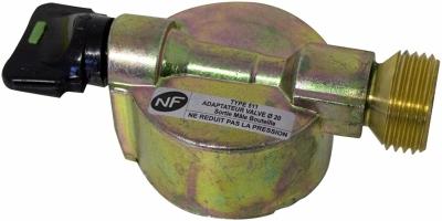 Détendeur basse pression - Avec sécurité - 20 x 150 - Sans tétine - EUROGAZ