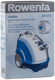 Sacs aspirateur ZR470 - Ambia - Lot de 6 - ROWENTA