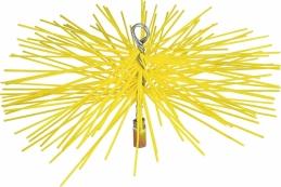 Hérisson en nylon pour ramonage - 150 mm - SCID