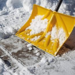 Pelle à neige / Grattoir à neige - 45 cm - Lamelle acier - GARANT