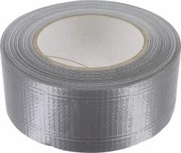 Toile adhésive étanche - Renforcée - 50 M x 50 mm - Gris aluminium - GPI