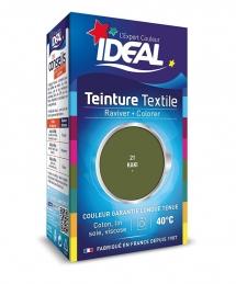 Teinture liquide pour textile - Raviver / Colorer - Kaki - 40 ml - IDEAL