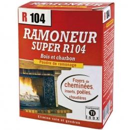 Poudre de ramonage - Bois et charbon - Ramoneur R104 - 900 Grs
